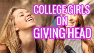 College Girls on Giving Head