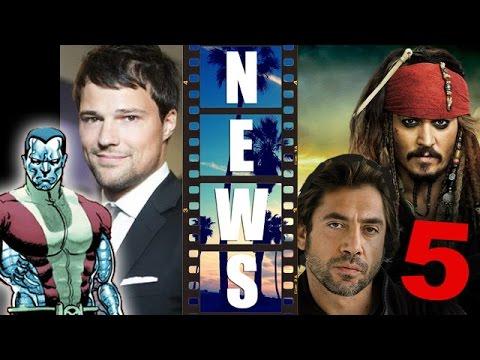 Deadpool 2016 Colossus, cast Danila Kozlovsky? Pirates of the Caribbean 5! – Beyond The Trailer