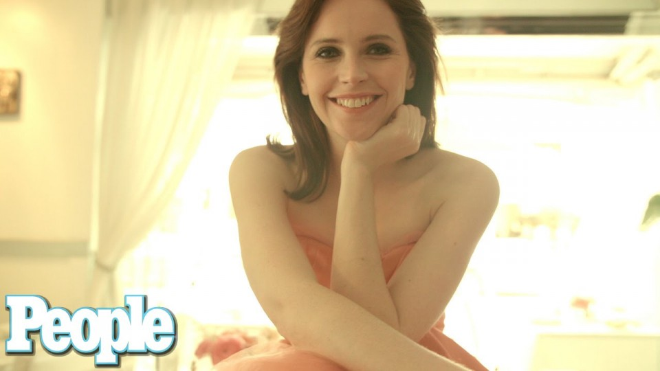 Felicity Jones Does What Behind Her Friends' Backs? | PEOPLE