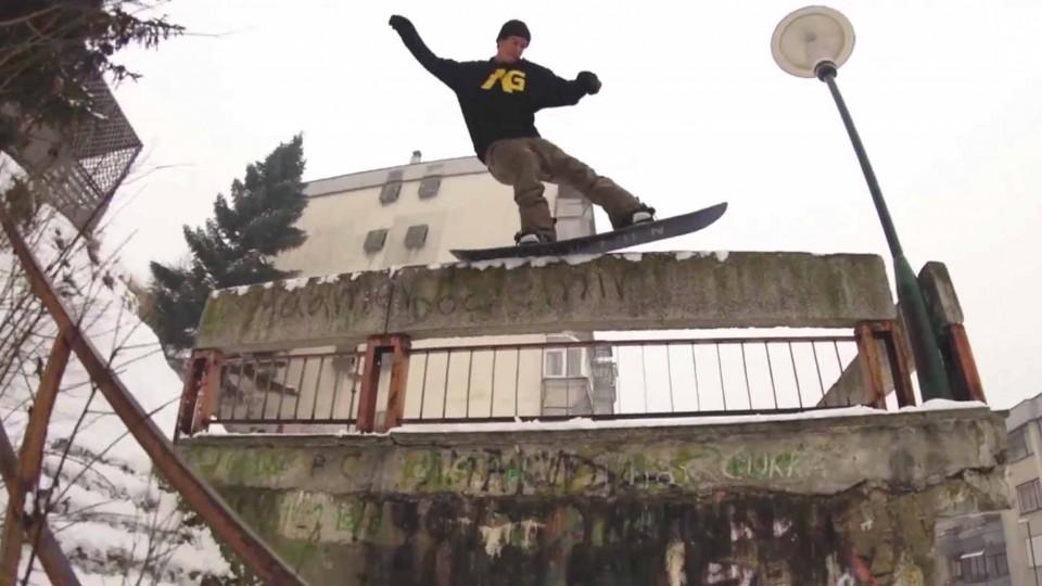 Grilosodes – Urban Snowboarding in Bosnia – Season 4 Ep 5