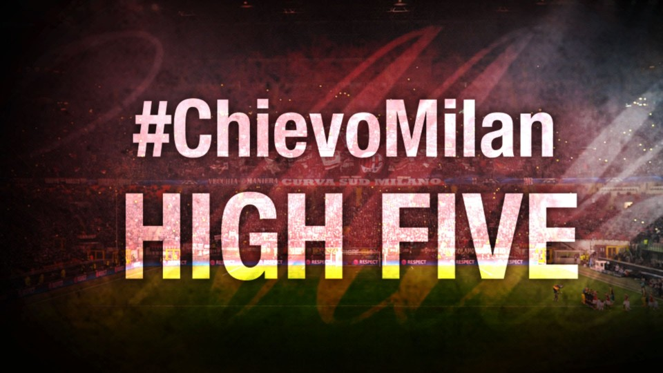 High Five #ChievoMilan | AC Milan Official