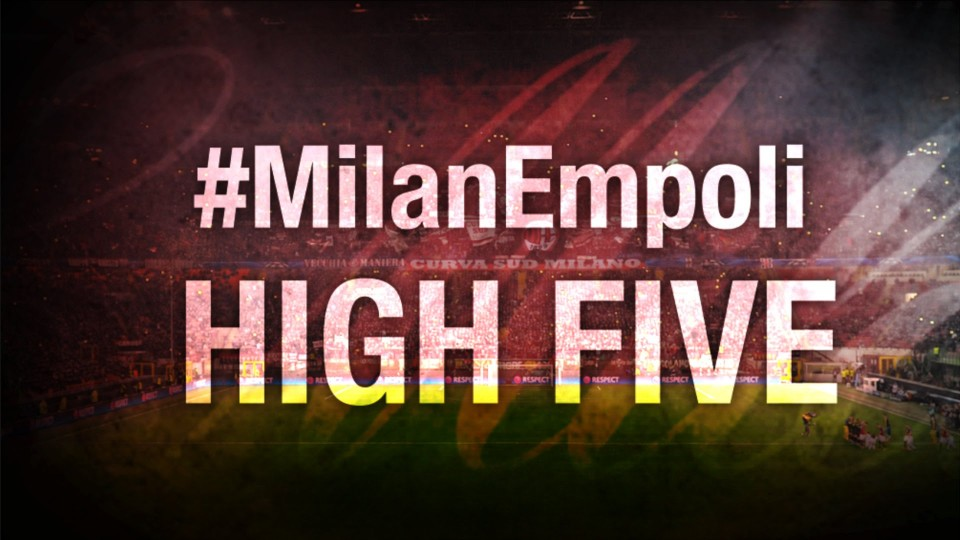 High Five #MilanEmpoli | AC Milan Official