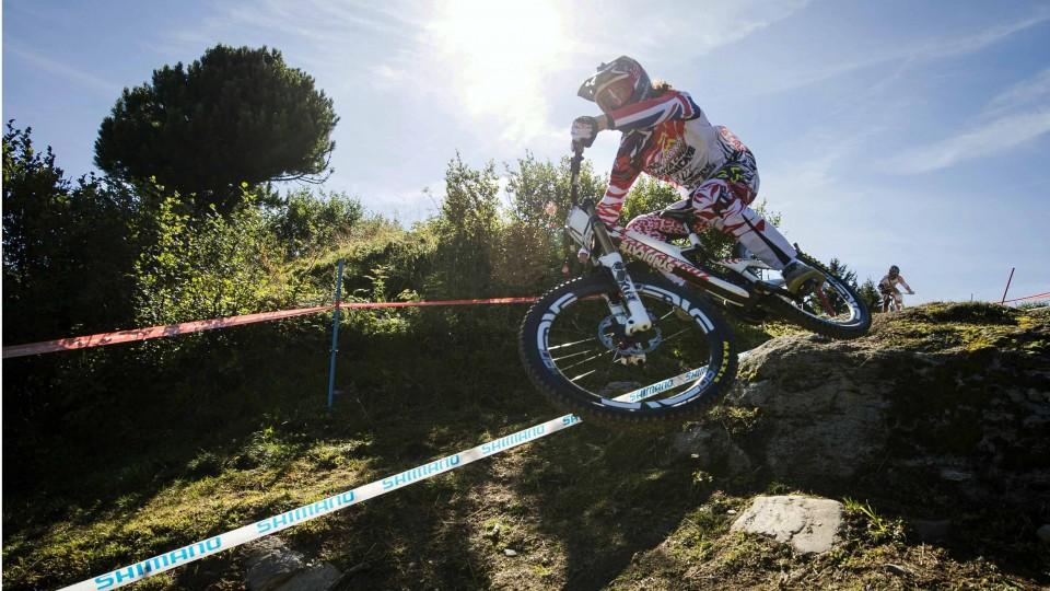 High Speed DH Mountain Biking in Meribel – UCI MTB World Cup 2014 Recap