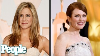 Jennifer Aniston & Julianne Moore – Relive the Oscars Red Carpet in 90 Seconds | PEOPLE
