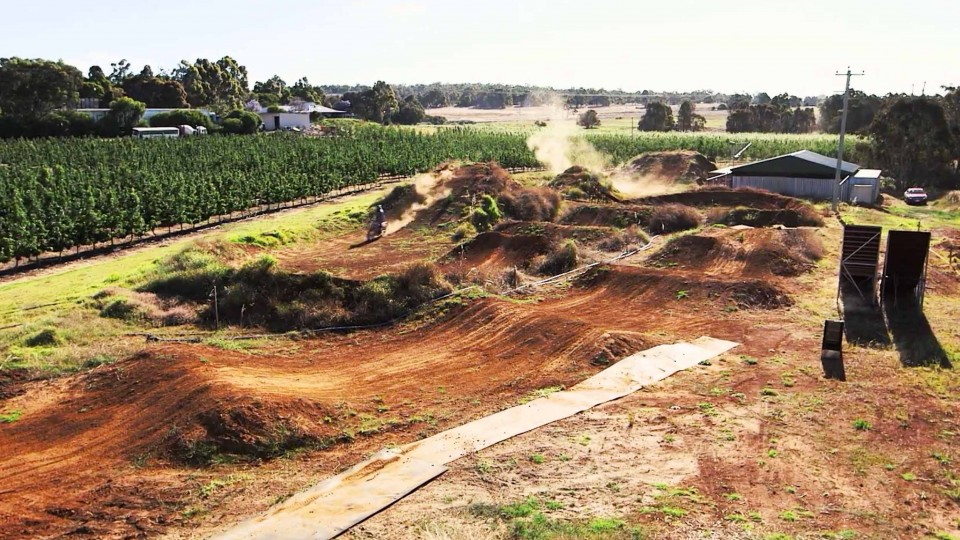 Josh Sheehan's Backyard Freestyle Motocross Playground