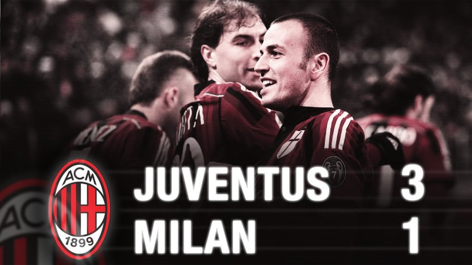 Juventus-Milan 3-1 Highlights | AC Milan Official