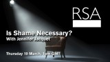 LIVE EVENT: Is Shame Necessary?