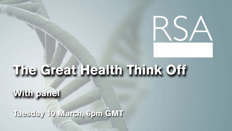 LIVE EVENT: The Great Health Think Off