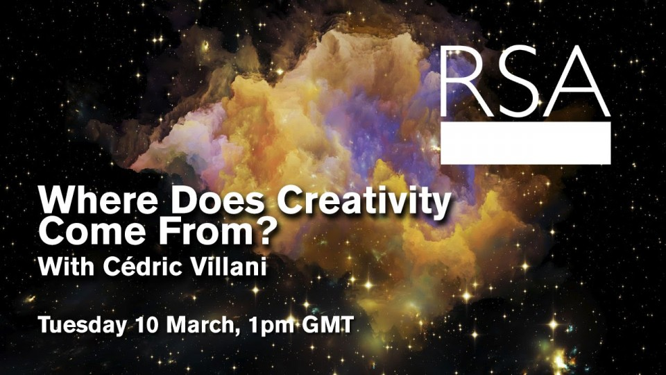 LIVE EVENT: Where Does Creativity Come From?