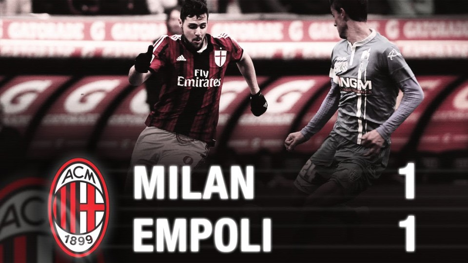 Milan-Empoli 1-1 Highlights | AC Milan Official