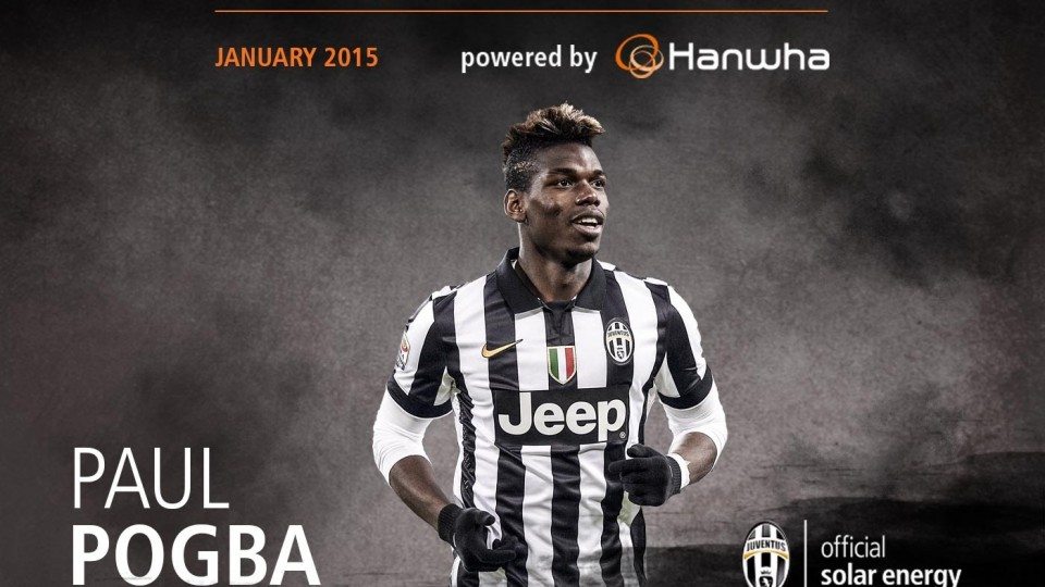 Paul Pogba – Amazing Skills Show January 2015 | MVP of the month powered by Hanwha