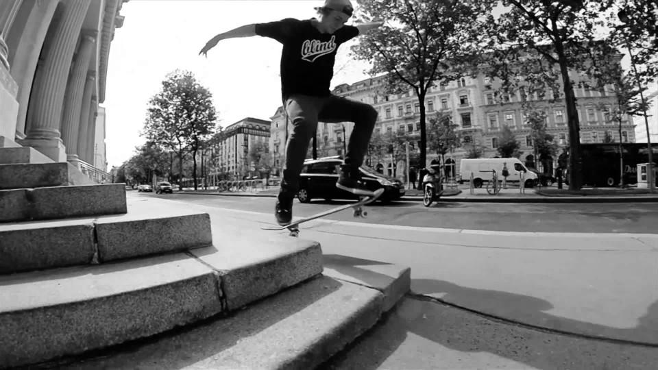 Philipp Schuster Skateboarding in 'Monochrome'