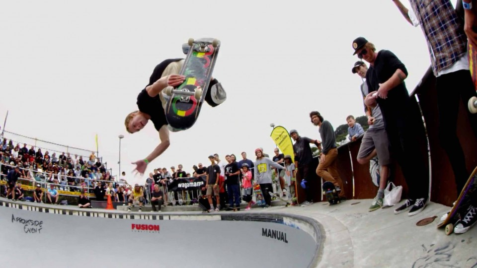 Pool Skating Jam Sessions in New Zealand – Bowl-A-Rama 2015