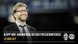 Pressekonferenz mit Klopp und Aubameyang vorm Spiel Juventus gegen Borussia Dortmund