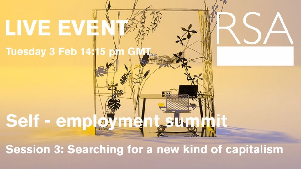 RSA Replay – Self Employment Summit – In-conversation