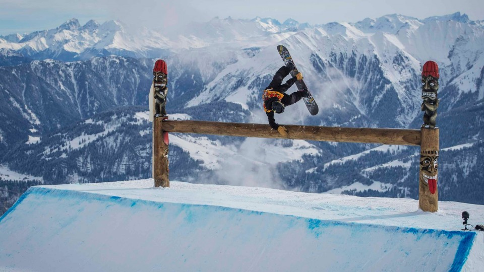 Slopestylin' at the Burton European Open 2015