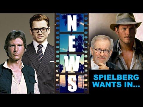 Taron Egerton is Han Solo? Indiana Jones 5 with Chris Pratt & Steven Spielberg? – Beyond The Trailer