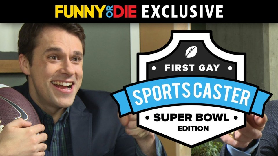 The First Gay Sportscaster: Super Bowl Edition