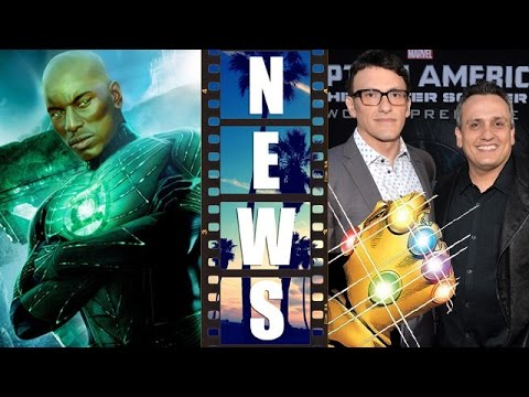 Tyrese Gibson as Green Lantern?! Russo Brothers for Avengers 3?! – Beyond The Trailer