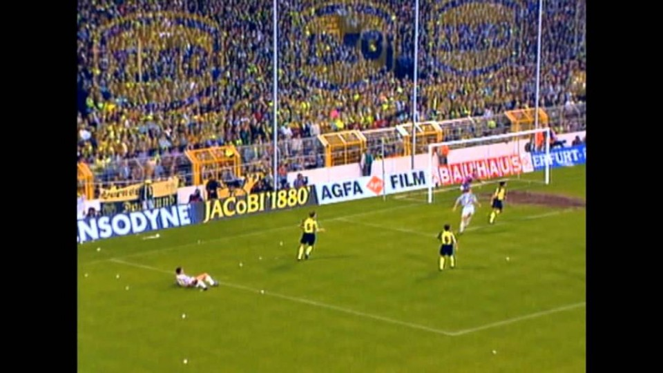 05/05/1993 – Coppa UEFA, Finale di andata – Borussia Dortmund-Juventus 1-3