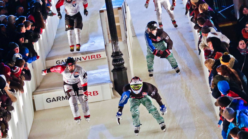 3v3 Team Ice Cross Battles – Red Bull Crashed Ice 2015