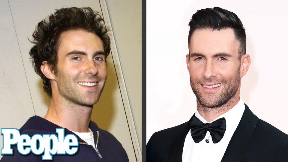 Adam Levine's Evolution of Looks | Time Machine | PEOPLE