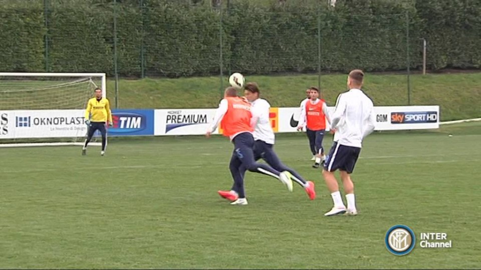 ALLENAMENTO INTER REAL AUDIO 21 03 2015