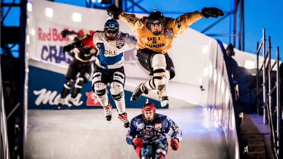 Battle for the Ice Cross DH Championship – Red Bull Crashed Ice 2015