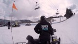 Benji Farrow Stomps a Snowboarding First
