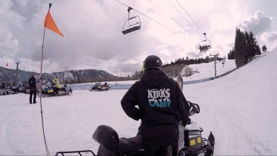 Benji Farrow Stomps a Snowboarding First