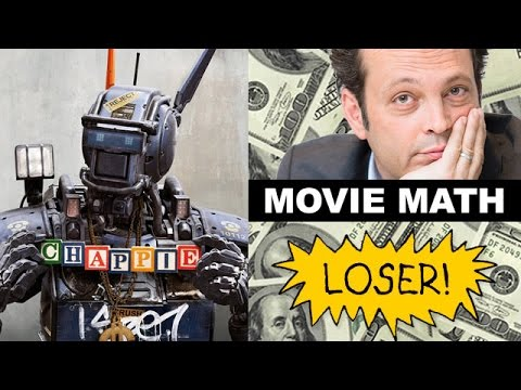 Box Office Chappie, Unfinished Business, The Second Best Exotic Marigold Hotel, Cinderella