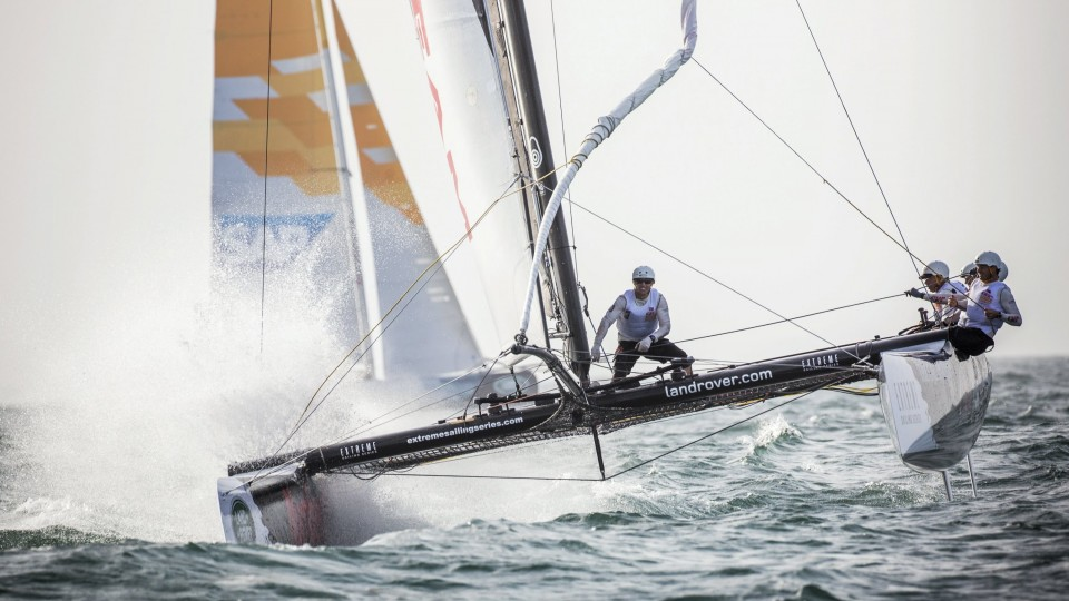 Extreme Sailing off the Coast of Muscat