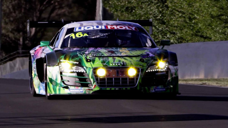 Felix Baumgartner Lives the Dream – Bathurst 12 Hour