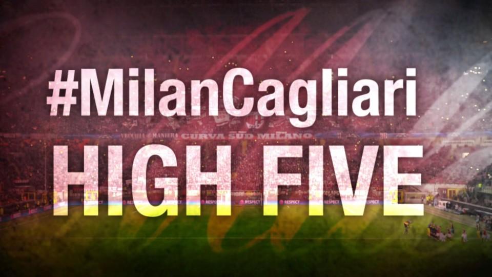 High Five #MilanCagliari | AC Milan Official