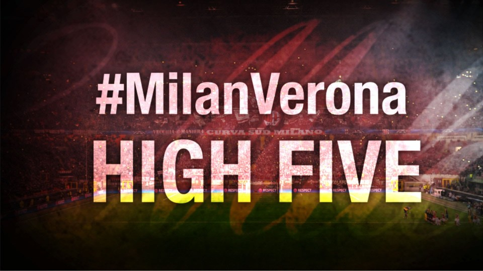 High Five #MilanVerona | AC Milan Official