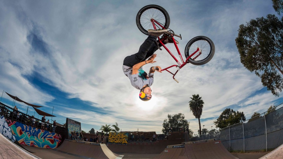 Inside the head of BMX Pro Daniel Sandoval