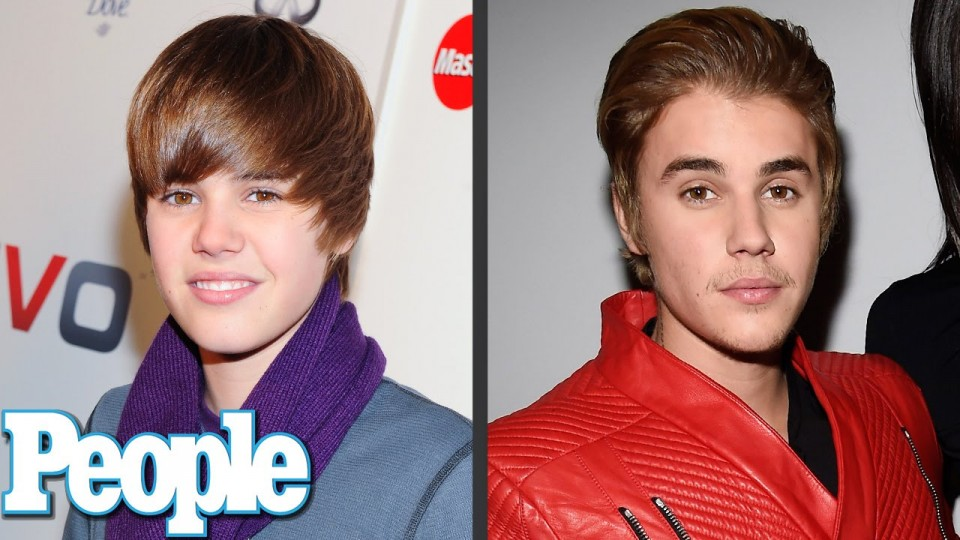 Justin Bieber's Evolution of Looks   Time Machine   PEOPLE