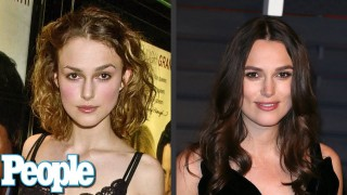 Keira Knightley's Evolution of Looks | Time Machine | PEOPLE