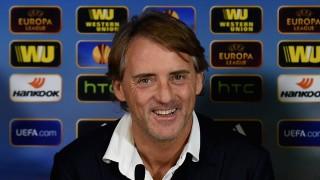 Live! conferenza stampa Roberto Mancini prima di Inter-Wolfsburg 18.3.2015 15:30CET