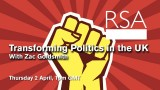 LIVE EVENT: Transforming Politics in the UK