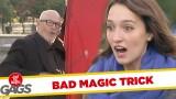 Magic Trick Gone Wrong!
