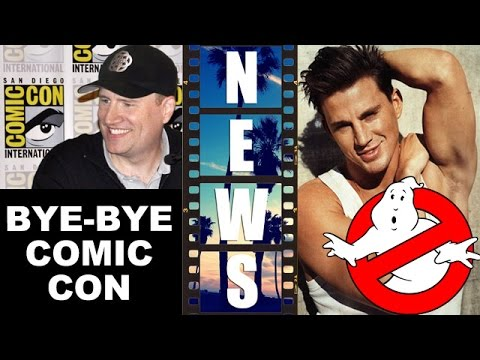Marvel to skip Comic Con 2015?! Channing Tatum Ghostbusters Movie – Beyond The Trailer