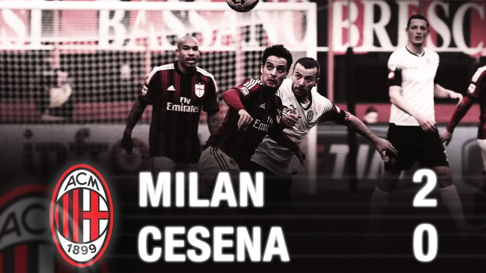 Milan-Cesena 2-0 Highlights | AC Milan Official