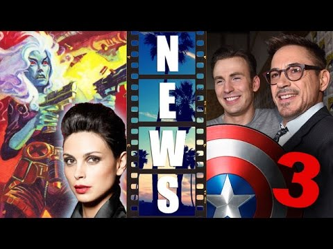 Morena Baccarin is Copycat in Deadpool 2016, Captain America 3 Plot Details – Beyond The Trailer