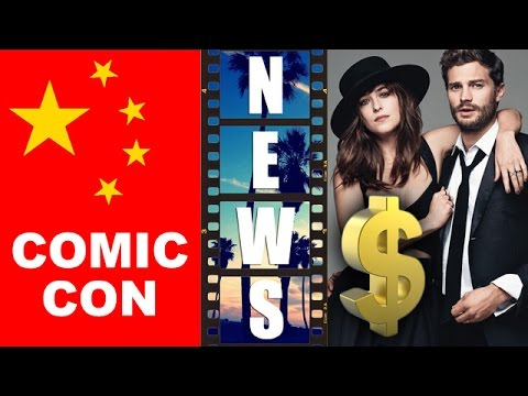 Shanghai Comic Con 2015, Fifty Shades Darker 2017 – Beyond The Trailer