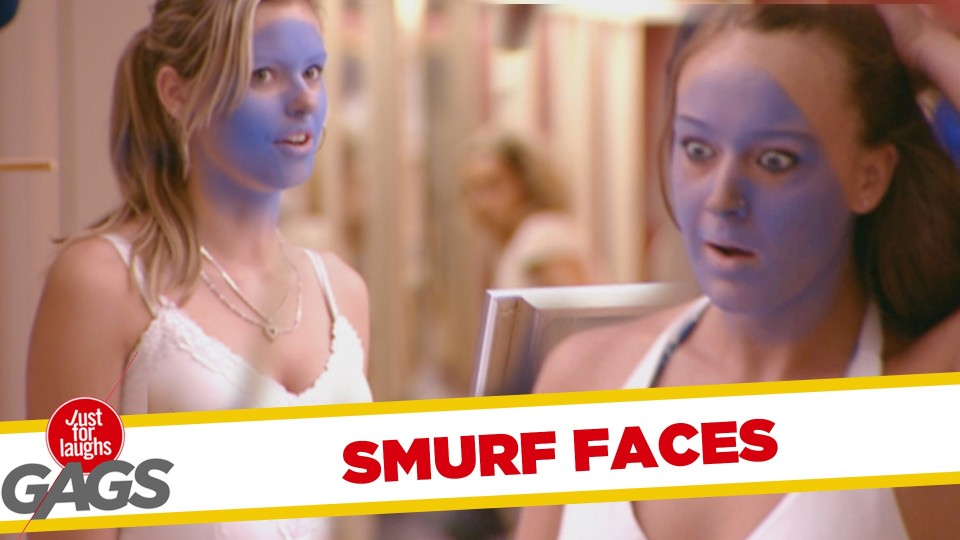 Smurf Tan Prank – Throwback Thursday