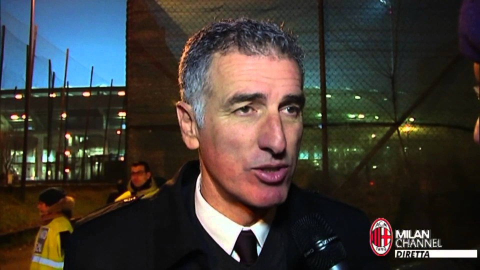 "Tassotti: ""Al Milan serve un filotto di vittorie"" 