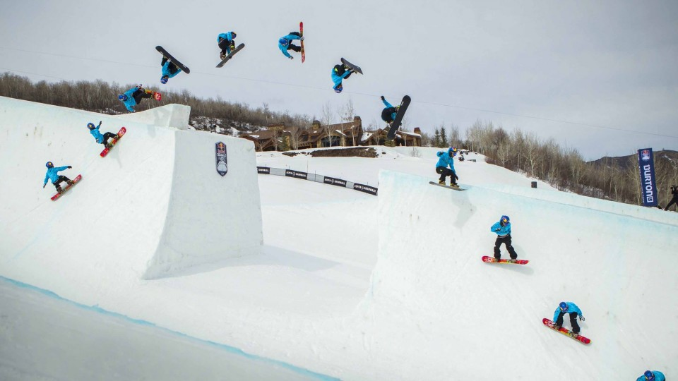 The Natural Soundtrack to Red Bull Double Pipe