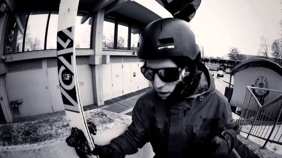 "Urban Freeskiing in Munich w/ Bene Mayr – ""Kids in the Streets"""